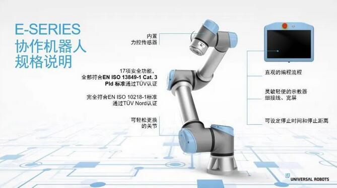 优傲机器人e系列与CB系列的区别