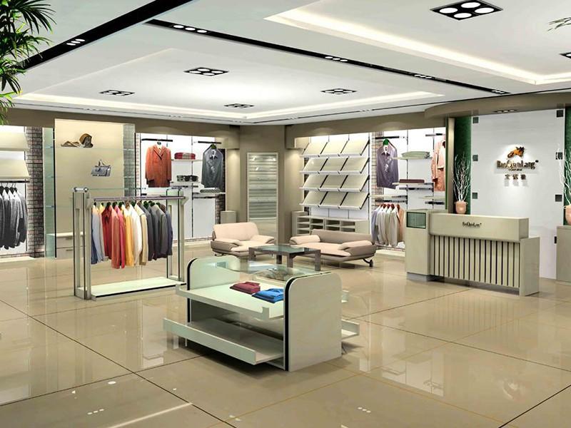 大型服裝店展柜