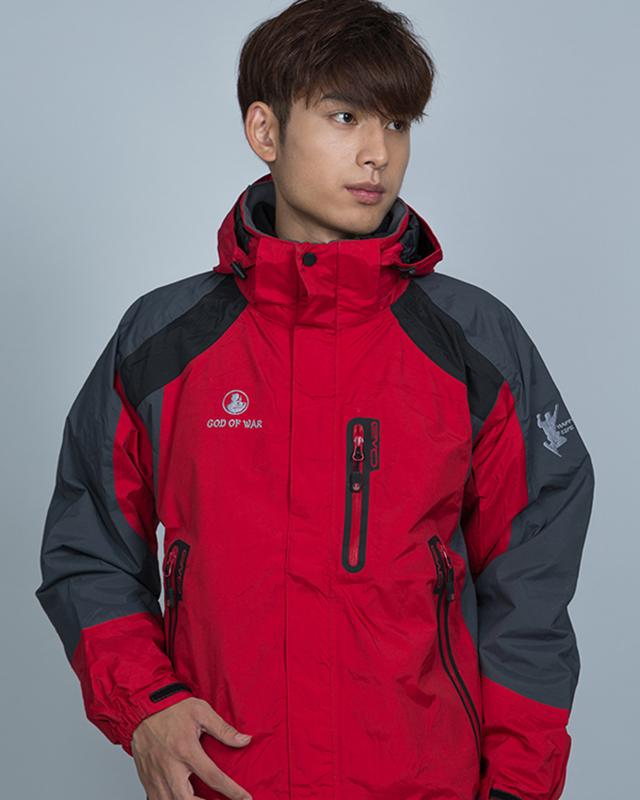 Jacket-004----大红
