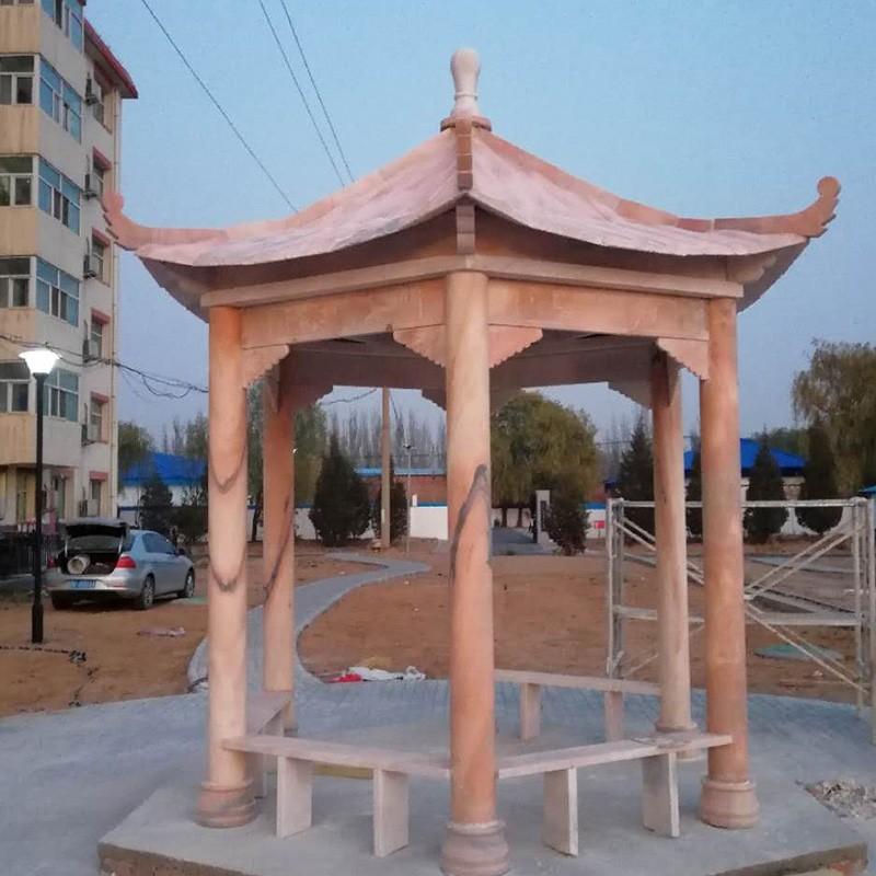 石凉亭建筑