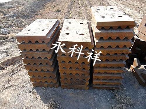 介绍球磨机筒体进料端加厚高锰钢衬板