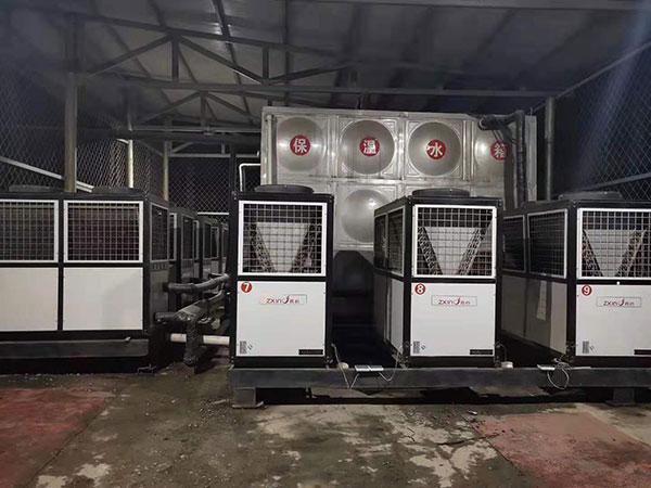 霍州矿务局紫李雅庄矿500吨热水工程