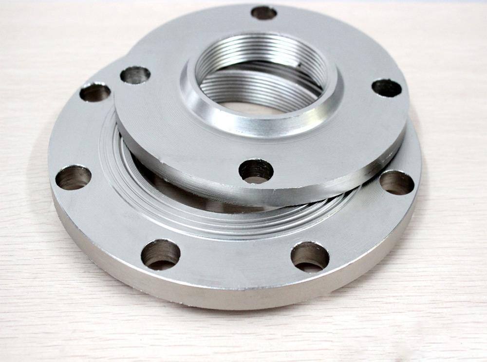 平板碳钢对焊法兰生产