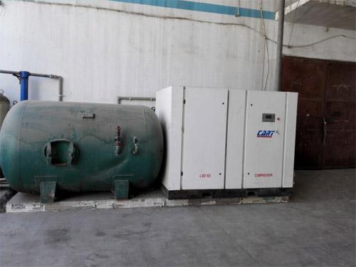 安徽滁州某粮食加工厂2010年空压机系统