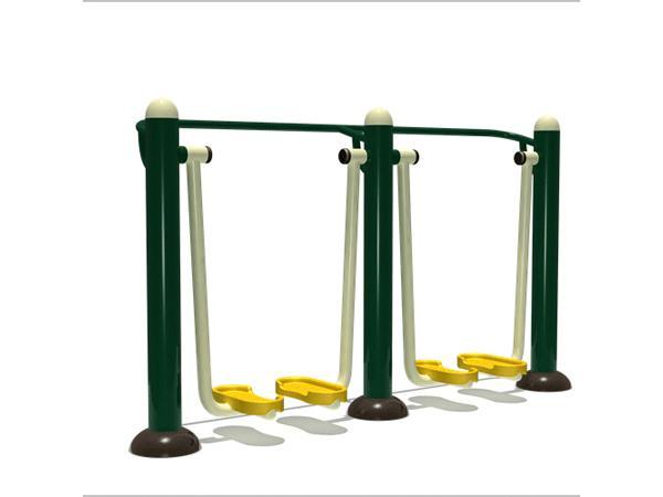 常见的三种户外健身器材介绍及使用要点
