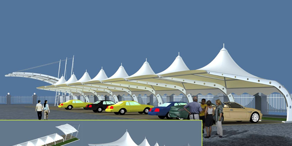 西宁膜结构车棚搭建的要求