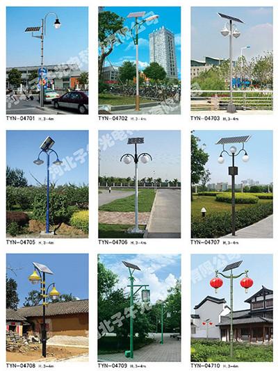 太阳能路灯杆生产厂家叙述路灯杆的路灯应当如何选择
