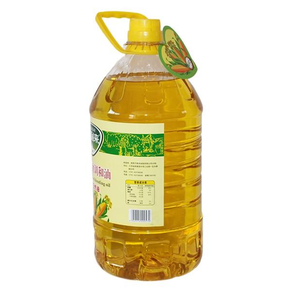 使用植物调和油玉米油