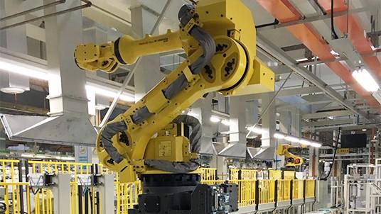 工业机器人的生产角色,自动智能化工业
