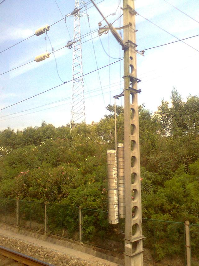 铁路坠砣配重