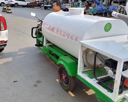 电动1.5吨洒水车