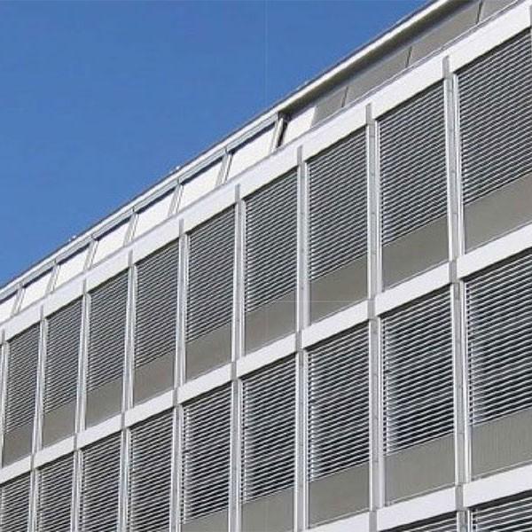 瓦楞板幕墙案例