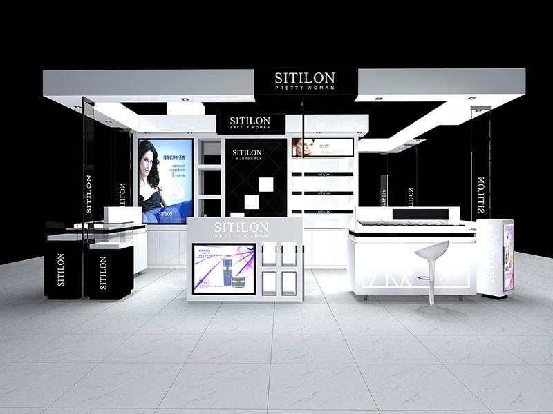 化妝品展柜設計