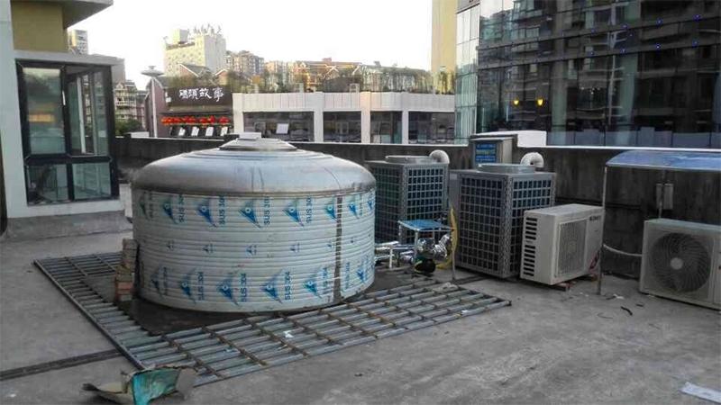 新名仕发型连锁热水安装