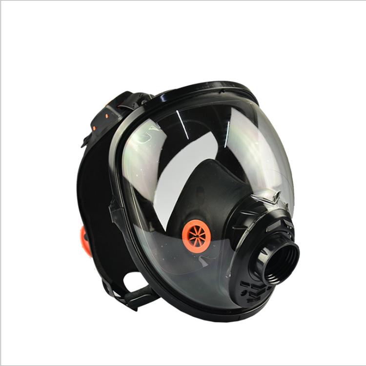 江苏代尔塔105007硅胶全面罩 防护PM2.5 防尘防毒面具