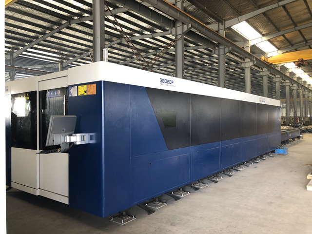 大族8020大型8米激光切割机
