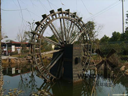 潍坊景观水车制作厂家