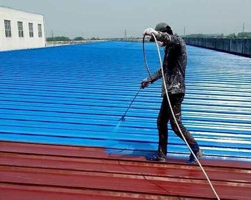 水性 油性彩钢瓦翻新漆
