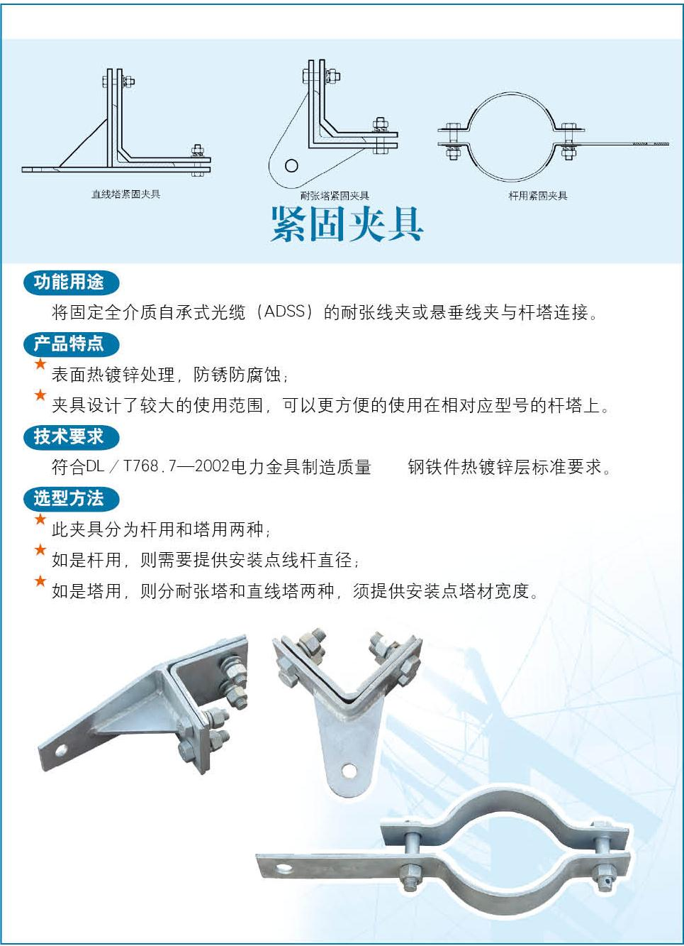ADSS cable hardware manufacturer