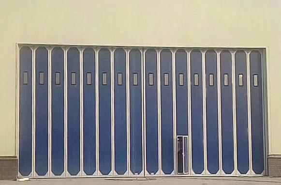 折叠飞机库门