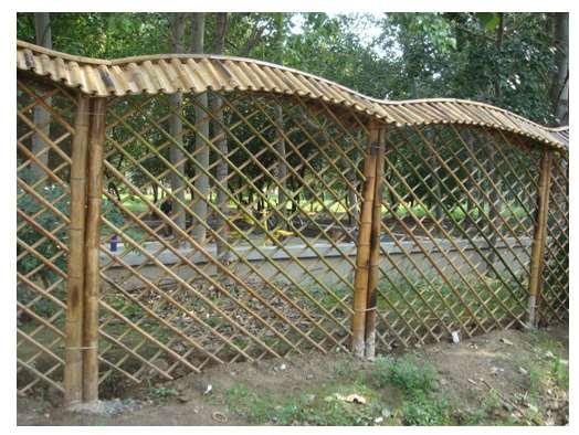 如何制作竹篱笆