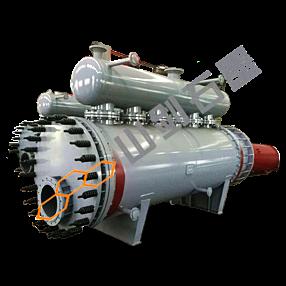 Graphite methanol vaporization reactor