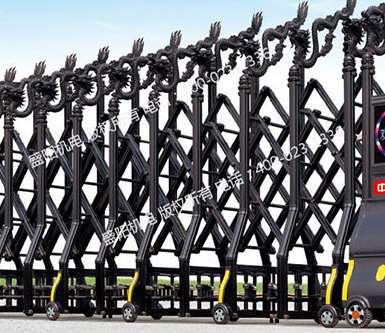 电动伸缩门的高新技术运用