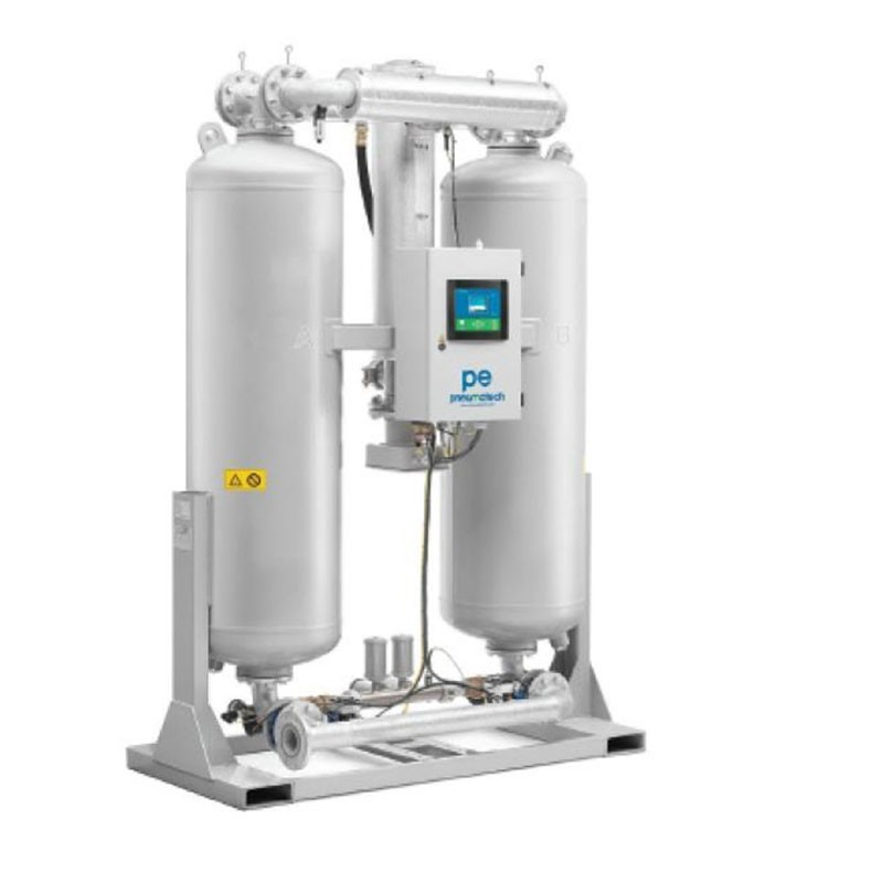 PE125~635微熱吸附式干燥機