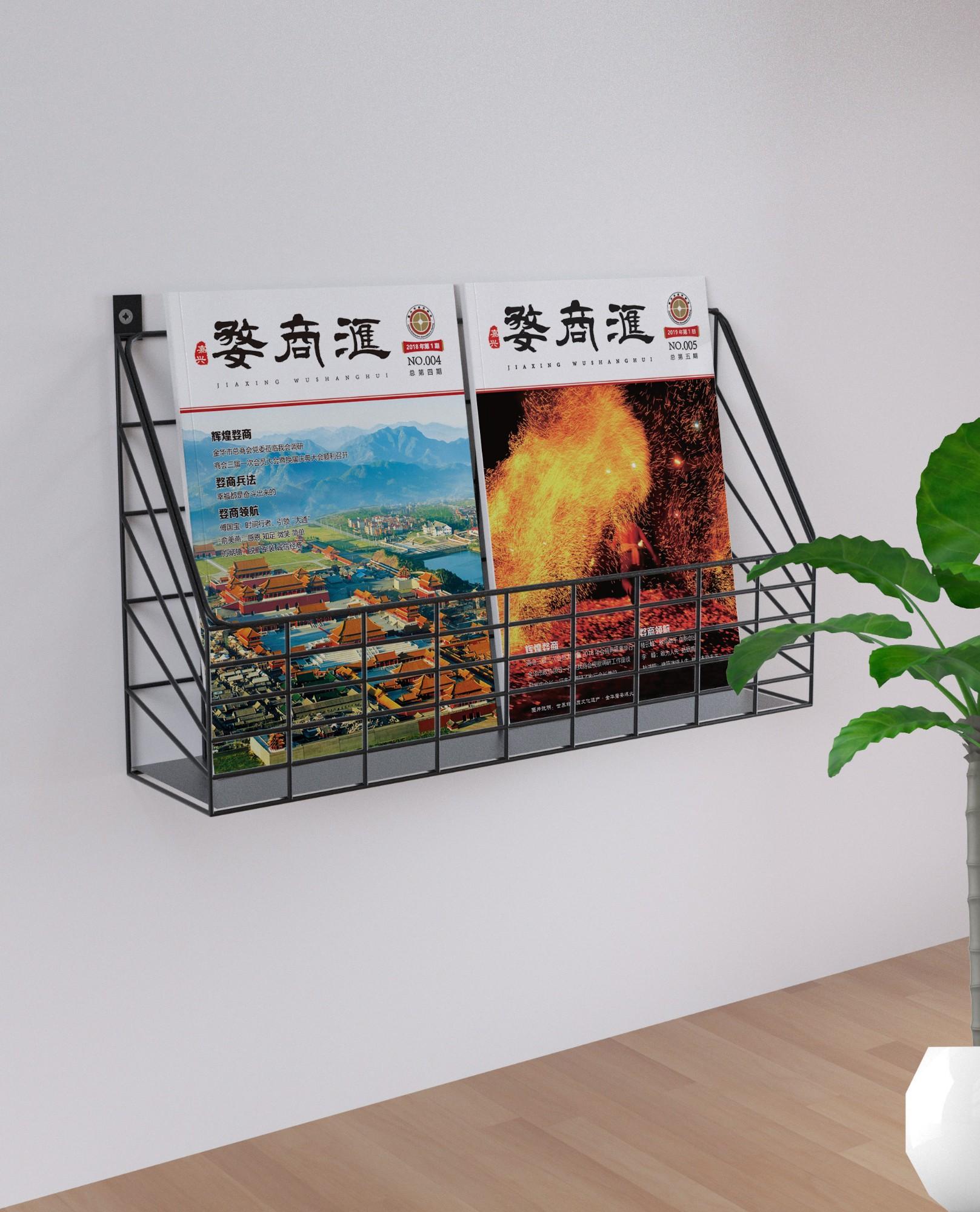 嘉兴市金华商会杂志采编