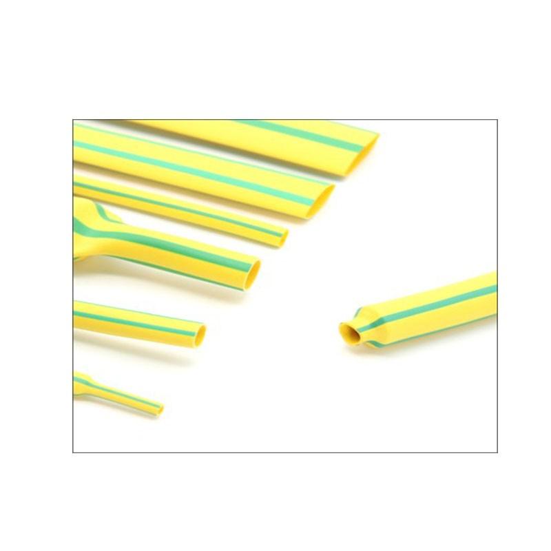 黄绿标识热缩管