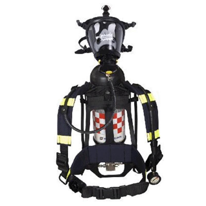 如何正确穿戴空气长管呼吸器?