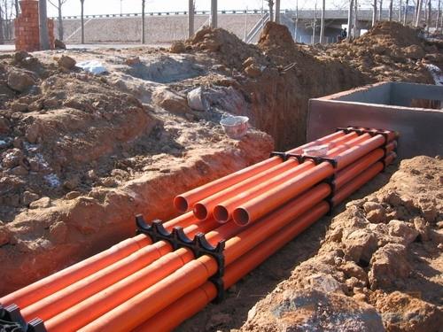 片区改造PVC管案例
