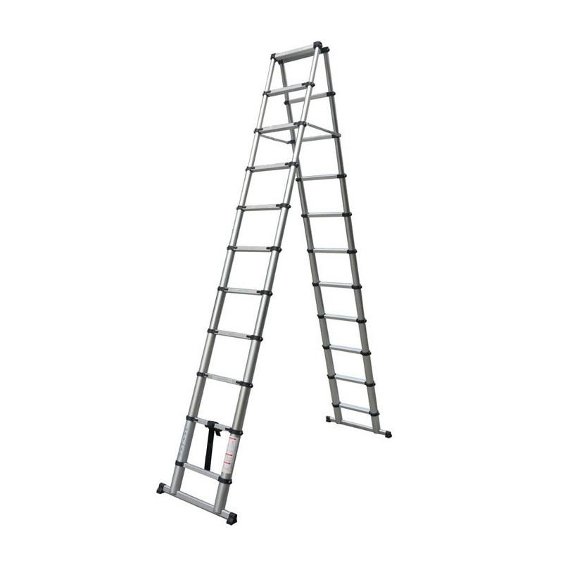 稳固型人字竹节伸缩梯