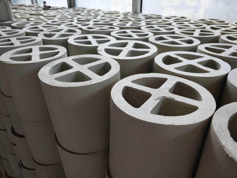 陶瓷十字环-陶瓷散堆填料厂家批量直销