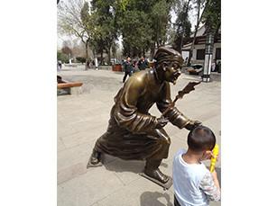 景观锻铸铜雕塑