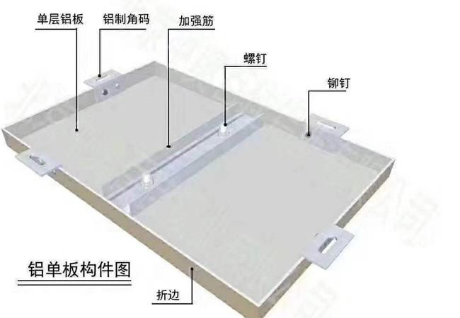 铝单板构件图