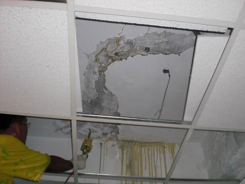 天花板滲漏維修