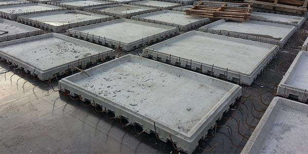 装配箱空心楼盖施工流程