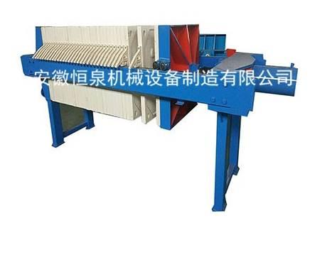 雅安板框式压滤机保养事项