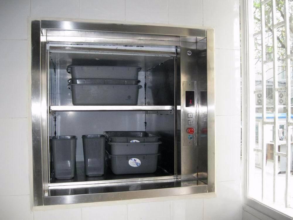 河北省传菜电梯企业谈电梯安裝前的准备工作