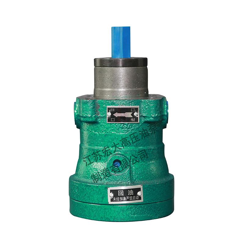 轴向柱塞泵厂家分析其压力不大的原因