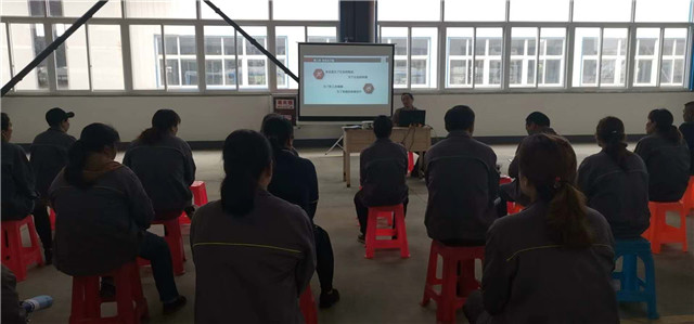 起航培训学校携手中能机械有限公司举办在职员工职业技能培训