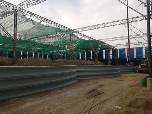 弧型彩刚拱形屋顶制做安裝的一般要求是啥?