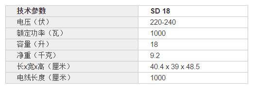 威霸SD18桶式吸尘器