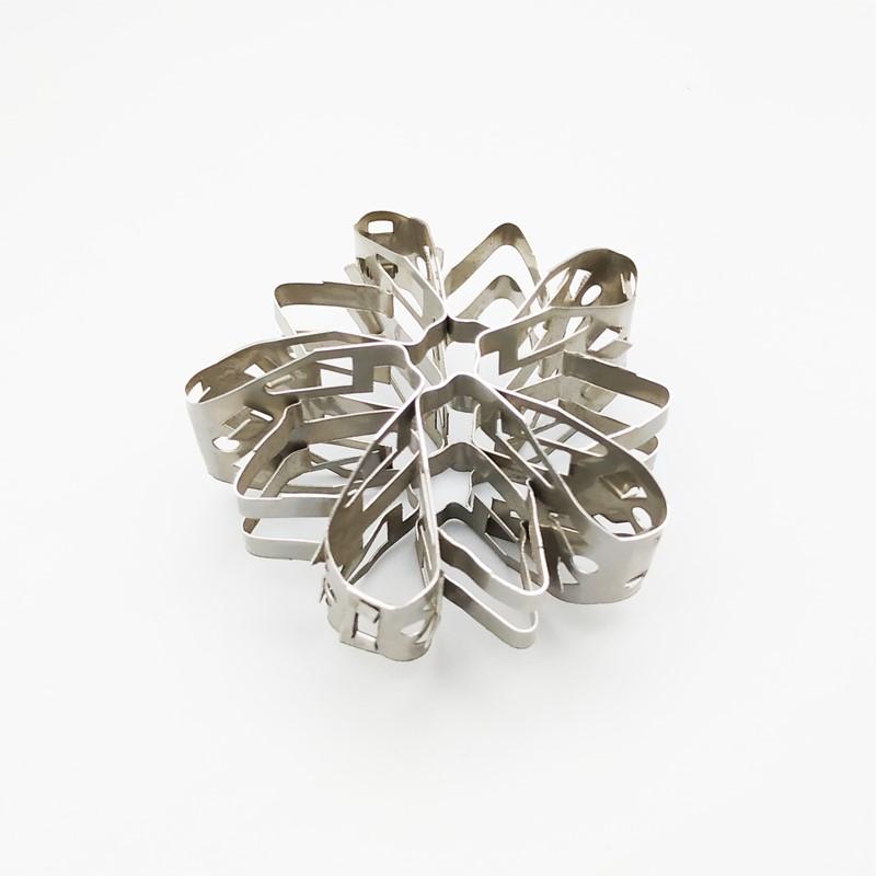 金属蝴蝶花环填料