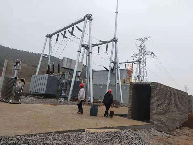 高压变电站工程案例