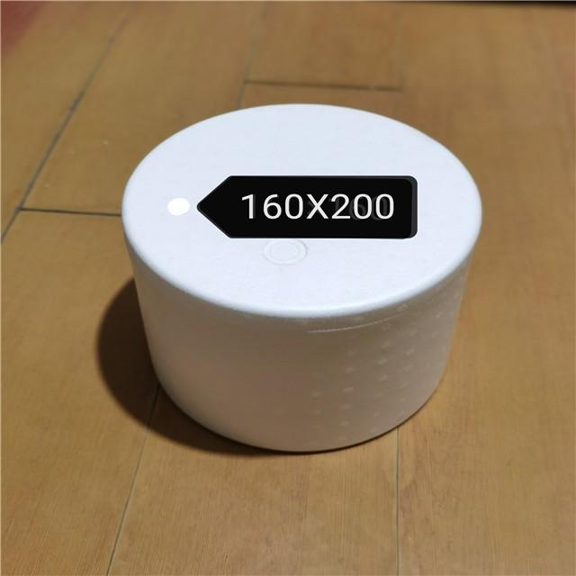 泡沫箱160x200