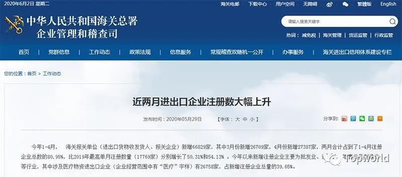 南京外贸推广|『出口提醒』欧盟已解除防护用品出口禁令,对中国市场需求正降低