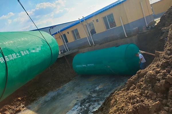 水泥整体化粪池