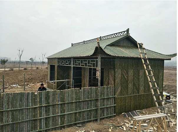 像竹房子这样的建筑有什么优点
